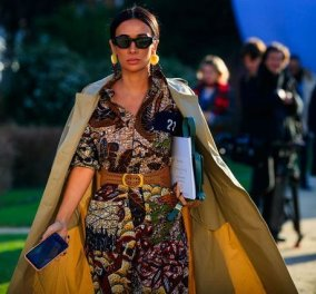 "Street style: Δείτε τα πιο φινετσάτα look στην εβδομάδα μόδας στο Παρίσι - Για να είστε ""Η ωραία της ημέρας"" (φώτο) - Κυρίως Φωτογραφία - Gallery - Video"