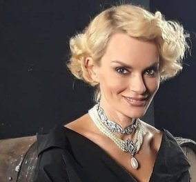 """Her style rocks"" : ""Fashion Idol"" η Έλενα Χριστοπούλου με υπέροχο ""minimal chic"" φόρεμα του Στέλιου Κουδουνάρη (φώτο) - Κυρίως Φωτογραφία - Gallery - Video"