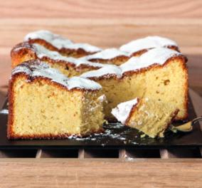 Στέλιος Παρλιάρος: Δημιουργήστε εύκολα & γρήγορα αυτό το εκπληκτικό κέικ αμυγδάλου χωρίς γλουτένη  - Κυρίως Φωτογραφία - Gallery - Video