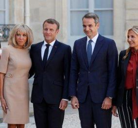 Παρίσι, σε λίγηώρατο tête à tête Μακρόν - Μητσοτάκη: Όλο το πρόγραμματης Ελληνογαλλικής συνάντησηςκορυφής  - Κυρίως Φωτογραφία - Gallery - Video