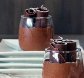 Στέλιος Παρλιάρος: Κλασική μους σοκολάτα με πορτοκάλι όπως παλιά – Με μεστή & πλούσια γεύση - Κυρίως Φωτογραφία - Gallery - Video