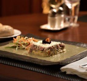 Το υπέροχο Menu από τον Ελληνογάλλο Chef Henry G στο Explorer's Bar Bistro του NJV Athens Plaza Hotel: Ελληνικές γεύσεις, γαλλική φινέτσα - Κυρίως Φωτογραφία - Gallery - Video