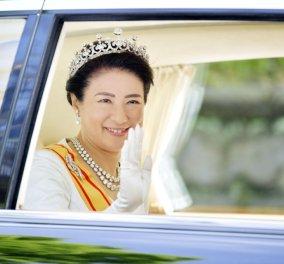 Ιδού η τιάρα που έχουν φορέσει όλες οι αυτοκράτειρες της Ιαπωνίας - Τώρα πέρασε στη Μασάκο (φώτο) - Κυρίως Φωτογραφία - Gallery - Video