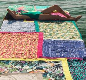 H Sun of a Beach αποκτά το δικό της Hospitality Collection! -To ελληνικό brand που μετέτρεψε τις πετσέτες θαλάσσης στο απόλυτο fashion statement αξεσουάρ (φώτο) - Κυρίως Φωτογραφία - Gallery - Video