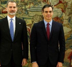 Ισπανία:Ο Πέδρο Σάντσεθ ορκίστηκε πρωθυπουργός ενώπιον του βασιλιά Φελίπε (φώτο) - Κυρίως Φωτογραφία - Gallery - Video