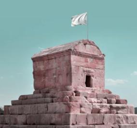 «Ύψωσε» λευκή σημαία στα ιστορικά μνημεία του Ιράν - Προστατέψτε τον πολιτισμό!   - Κυρίως Φωτογραφία - Gallery - Video