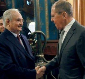 Ο Χαφτάρ έφυγε από τη Μόσχα χωρίς να υπογράψει συμφωνία: Ζήτησε προθεσμία δύο ημερών - Απειλεί ο Ερντογάν - Κυρίως Φωτογραφία - Gallery - Video