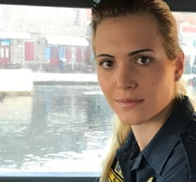 Top Woman η Μαρία Κόντη: Η κυβερνήτης του σκάφους του Λιμενικού που σώζει ζωές στο Αιγαίο  - Κυρίως Φωτογραφία - Gallery - Video