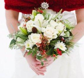 Σχεδιάζετε να παντρευτείτε; - Ιδού 18 υπέροχες χειμωνιάτικες νυφικές ανθοδέσμες που θα ερωτευτείτε (φώτο) - Κυρίως Φωτογραφία - Gallery - Video