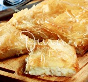 Υπέροχη κοτομπουγάτσα με τυρί από τη Ντίνα Νικολάου - Κυρίως Φωτογραφία - Gallery - Video