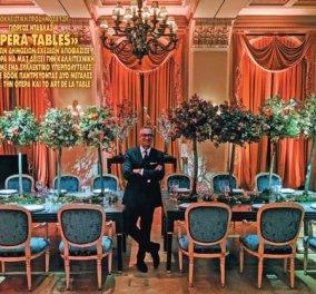 Ο Γιώργος Ντάβλας παρουσιάζει: Οι αγαπημένες μου όπερες & τα αγαπημένα art de la table (φωτό) - Κυρίως Φωτογραφία - Gallery - Video