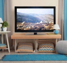 Σπύρος Σούλης: Μια Τσαχπινιά για να Κρύψετε την Τηλεόραση στο Σαλόνι σας! - Κυρίως Φωτογραφία - Gallery - Video