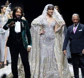 Αυτό το νυφικό είναι το 3ο ακριβότερο φόρεμα στον κόσμο - Είναι διακοσμημένο με 751 διαμάντια (φωτό) - Κυρίως Φωτογραφία - Gallery - Video