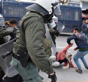 Λέσβος: Έκρυθμη η κατάσταση στο νησί μετά τα χθεσινά επεισόδια μεταξύ αστυνομικών και μεταναστών (Φωτο- Βίντεο) - Κυρίως Φωτογραφία - Gallery - Video