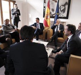 Συνάντηση κορυφής: Μητσοτάκης, Μακρόν, Μέρκελ, Σάντσεθ, Κόντε «τα λένε» για τον ευρωπαϊκό προϋπολογισμό - Κυρίως Φωτογραφία - Gallery - Video