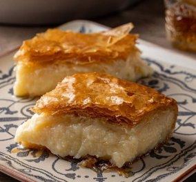 Το απόλυτο γλυκό: Γαλακτομπούρεκο από την Αργυρώ Μπαρμπαρίγου - Κυρίως Φωτογραφία - Gallery - Video