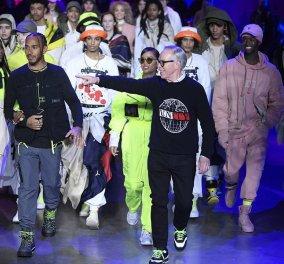 Ο Αμερικανός σχεδιαστής Tommy Hilfiger ξεσήκωσε το Λονδίνο με τα καμώματα αλλά & τα ωραία ρούχα του (φωτό - βίντεο) - Κυρίως Φωτογραφία - Gallery - Video