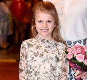 Μικρές κυρίες της Σουηδικής Βασιλικής Οικογενείας: Η Πριγκίπισσα Estelle με θαυμάσιο πορτραίτο για τα 8α γενέθλια της (φωτο) - Κυρίως Φωτογραφία - Gallery - Video