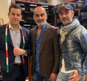 Made in Greece τα κοστούμια του Τάκη Γιαννέτου: Ντύνει τους πασίγνωστους πρωταγωνιστές του Hollywood, Shaun Taub & Navid Negahban (φωτό) - Κυρίως Φωτογραφία - Gallery - Video