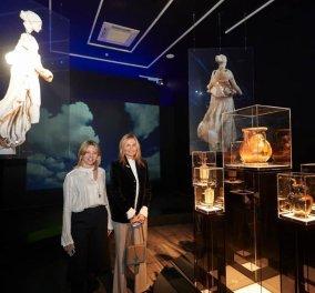 Μαρέβα Μητσοτάκη: Με τη φίλη & συνέταιρό της Μιμίκα Κολοτούρα στο Αρχαιολογικό Μουσείο (φωτό) - Κυρίως Φωτογραφία - Gallery - Video