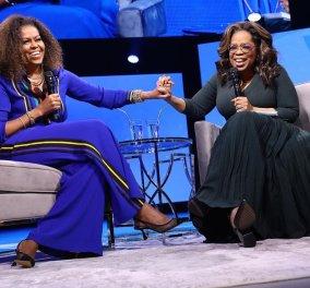 Όταν η Oprah Winfrey η πλουσιότερη & διασημότερη γυναίκα της τηλεόρασης συνάντησε την Michelle Obama (βίντεο) - Κυρίως Φωτογραφία - Gallery - Video