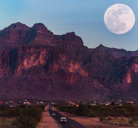 Την Κυριακή η πρώτη υπερπανσέληνος του 2020 - Ονομάζεται η σελήνη του χιονιού  - Κυρίως Φωτογραφία - Gallery - Video