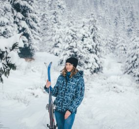 Ντύσιμο για εκδρομή στα χιόνια: 26 στυλάτοι συνδυασμοί με ζεστά ρούχα (φωτό) - Κυρίως Φωτογραφία - Gallery - Video