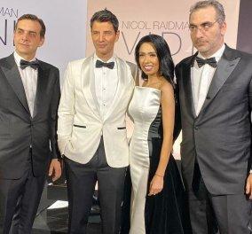 Με λευκό σμόκιν ο Σάαακης: Μαζί του με tuxedo & Κοντόπουλος - Κοκοτός (φωτό) - Κυρίως Φωτογραφία - Gallery - Video