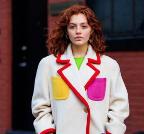 Street Style στην Εβδομάδα Μόδας της NY: Τα ωραιότερα looks των κοριτσιών που κυκλοφορούν στους δρόμους (φωτό) - Κυρίως Φωτογραφία - Gallery - Video