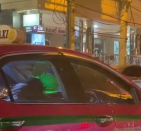 Το βίντεο έγινε viral: Ο ταξιτζής έμπλεξε στην κίνηση & άρχισε να κάνει θεαματικούς κοιλιακούς  - Κυρίως Φωτογραφία - Gallery - Video