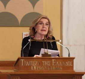 Μαριάννα Βαρδινογιάννη: Η ομιλία της στην παρουσίαση του Νομισματικού Προγράμματος 2020 (φωτό) - Κυρίως Φωτογραφία - Gallery - Video