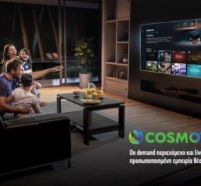 COSMOTE TV: Η πρώτη streaming υπηρεσία με προσωποποιημένες προτάσεις από live & on demand περιεχόμενο - Κυρίως Φωτογραφία - Gallery - Video