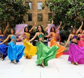 Γιορτάζουμε σήμερα: Χορός της κοιλιάς λοιπόν από ένα εκπληκτικό συγκρότημα χορευτριών (βίντεο) - Κυρίως Φωτογραφία - Gallery - Video