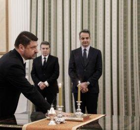 Ορκίστηκε ο Νίκος Χαρδαλιάς, υφυπουργός Πολιτικής Προστασίας – Θα αναφέρεται απευθείας στον Πρωθυπουργό (φωτό) - Κυρίως Φωτογραφία - Gallery - Video