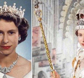 Βασίλισσα Ελισάβετ: Αυτά είναι τα διαδήματα με μπριγιάν, σμαράγδια, ρουμπίνια, ζαφείρια που έχει φορέσει με ασορτί τιάρες (φωτό - βίντεο) - Κυρίως Φωτογραφία - Gallery - Video