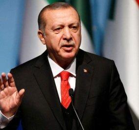 Ερντογάν -  Νέα κόλπα: «Απαγορεύω στους μετανάστες να διαπλέουν το Αιγαίο γιατί κινδυνεύουν»  - Κυρίως Φωτογραφία - Gallery - Video