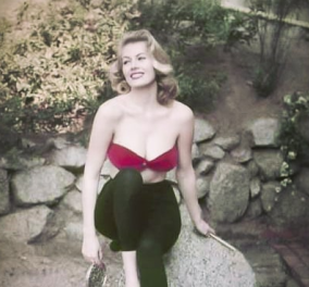Vintage pics: Aνίτα Έκμπεργκ, η καλλονή ηθοποιός που βούτηξε στην Φοντάνα Ντι Τρέβι (φωτό) - Κυρίως Φωτογραφία - Gallery - Video