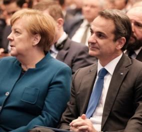 Κυρ. Μητσοτάκης από Βερολίνο: Η Ελλάδα και η Ευρώπη δεν εκβιάζονται από κανέναν - Ο Ερντογάν να αποσύρει τους απελπισμένους στον Έβρο (φωτό & βίντεο)  - Κυρίως Φωτογραφία - Gallery - Video