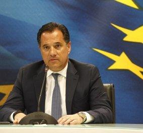 Άδωνις Γεωργιάδης: Χθες βάλαμε πρόστιμο 50.000 ευρώ σε εταιρεία αντισηπτικών - Είχε ανεβάσει το κέρδος της - Δεν είναι ώρα για αρπαχτές (βίντεο) - Κυρίως Φωτογραφία - Gallery - Video