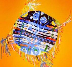 To Eirinika στηρίζει την καλλιτεχνική δημιουργία και σήμερα «πετάει χαρταετό» με την διακεκριμένη ζωγράφο Βάσω Τρίγκα - Κυρίως Φωτογραφία - Gallery - Video
