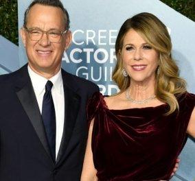 Tom Hanks & Rita Wilson σε απομόνωση λόγω κορωνοϊού: Χαμόγελα στη φωτό τους μέσα από το νοσοκομείο - Τι ανήρτησε ο γιος τους (βίντεο) - Κυρίως Φωτογραφία - Gallery - Video