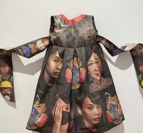 Andrea Liliethal η μοναδική designer! Ανακυκλώνει εφημερίδες & τις μετατρέπει σε φορέματα (φωτο) - Κυρίως Φωτογραφία - Gallery - Video