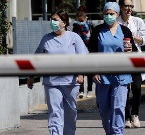 Κορωνοϊός: Αυτή τη στιγμή στην Ελλάδα νοσούν 77 γιατροί & νοσηλευτές - Καραντίνα για 350 - Κυρίως Φωτογραφία - Gallery - Video