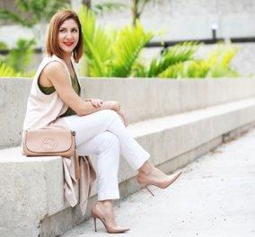 Στυλιστικές συμβουλές για να φορέσετε ένα λευκό παντελόνι - Κυρίως Φωτογραφία - Gallery - Video
