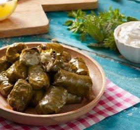 Η Αργυρώ Μπαρμπαρίγου ετοιμάζει τα πιο νόστιμα ντολμαδάκια γιαλαντζί - Όλα τα μυστικά του απόλυτου μαμαδίστικου φαγητού  - Κυρίως Φωτογραφία - Gallery - Video