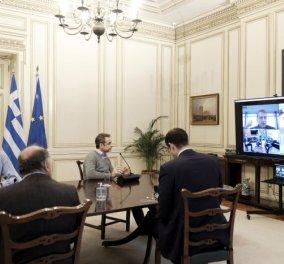 Κυρ. Μητσοτάκης για τον καταυλισμό των μεταναστών στον Έβρο που άδειασε αστραπή από τον Ερντογάν – Συγχαίρω την Ελληνική αστυνομία και τις ένοπλες δυνάμεις  - Κυρίως Φωτογραφία - Gallery - Video