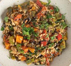 Πεντανόστιμο & νηστίσιμο ριζότο λαχανικών από τον Άκη Πετρετζίκη (βίντεο) - Κυρίως Φωτογραφία - Gallery - Video