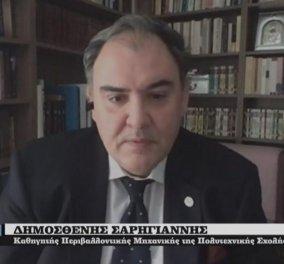 Καθηγητής Σαρηγιάννης on camera: Στους επόμενους 6 μήνες το 50% των Ελλήνων θα έχει μολυνθεί (βίντεο) - Κυρίως Φωτογραφία - Gallery - Video