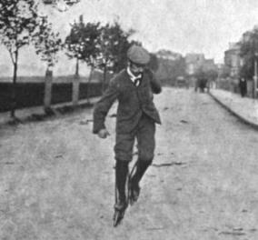 Vintage story: Πριν τα σημερινά skates, το 1898 της μόδας τα Ritter skates - Οι τολμηροί έβγαιναν σαν παπουτσωμένοι γάτοι με ποδηλατάκια - Κυρίως Φωτογραφία - Gallery - Video