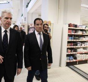 Άδωνις Γεωργιάδης: Επίσκεψη σε σούπερ μάρκετ για τις ουρές - Η κυβέρνηση θα είναι αμείλικτη σε περιπτώσεις αισχροκέρδειας (φωτό &βίντεο) - Κυρίως Φωτογραφία - Gallery - Video